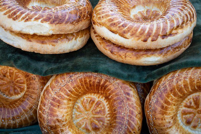 Uzbekistan food guide bread tandyr non