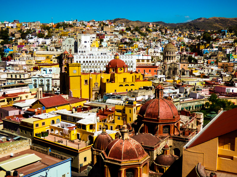 Guanajuato Mexico off the beaten path