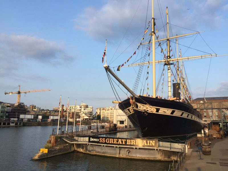 things to do in bristol - SS Great Britain