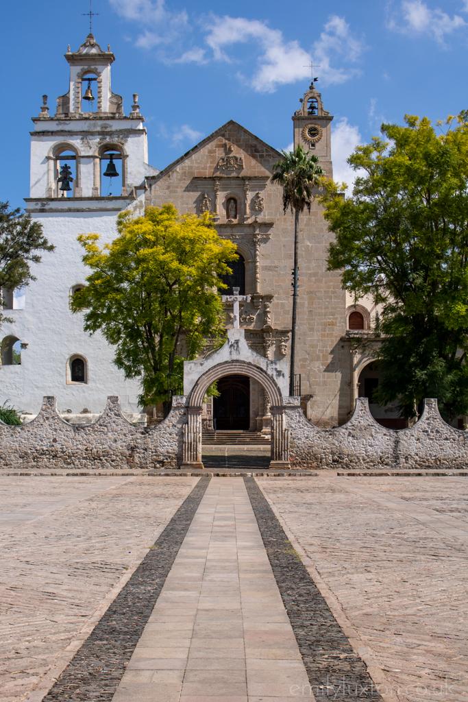 Cuitzeo church Michoacan