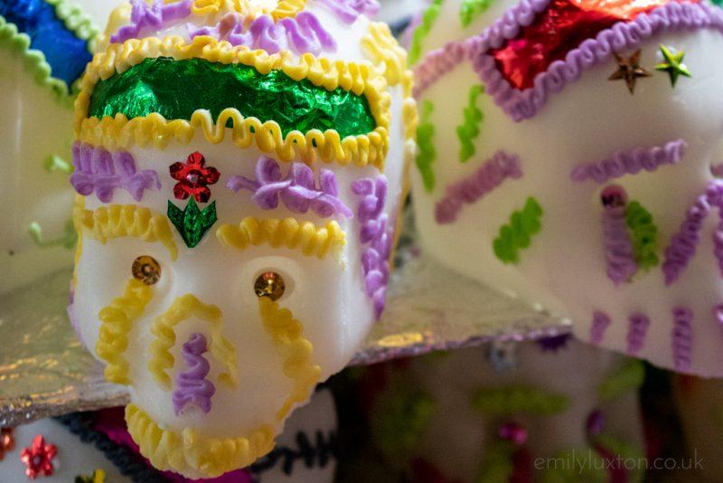 Dia de Muertos sugar skulls mexico