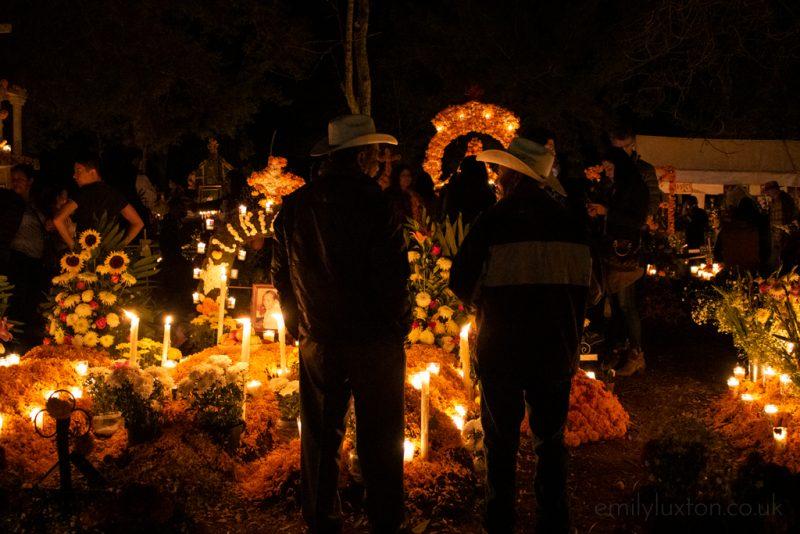 Dia de Muertos Cemetery Mexico