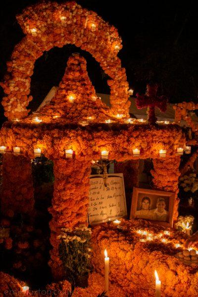 Dia de Muertos Patzcuaro Lake Mexico