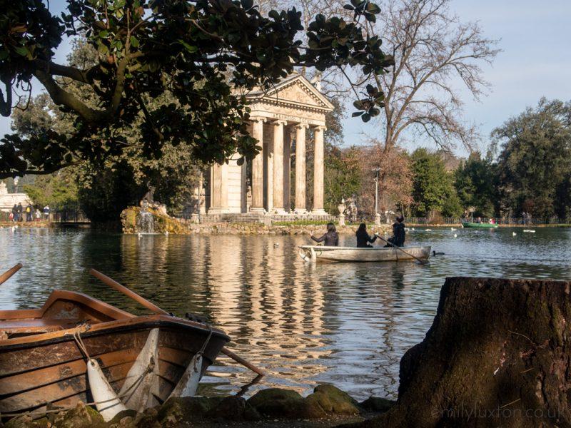 Borghese Gardens Rome