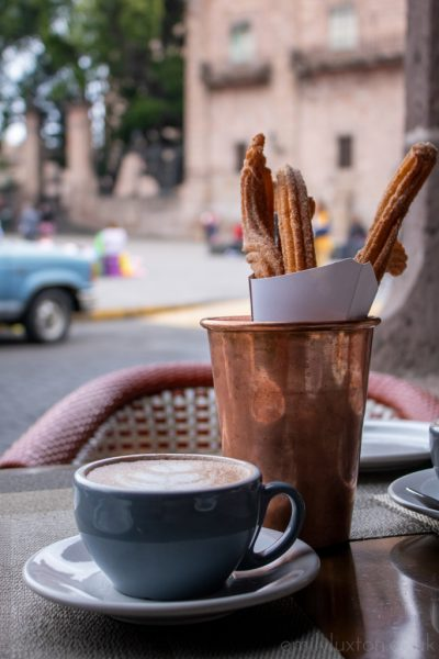 Churros Morelia Mexico