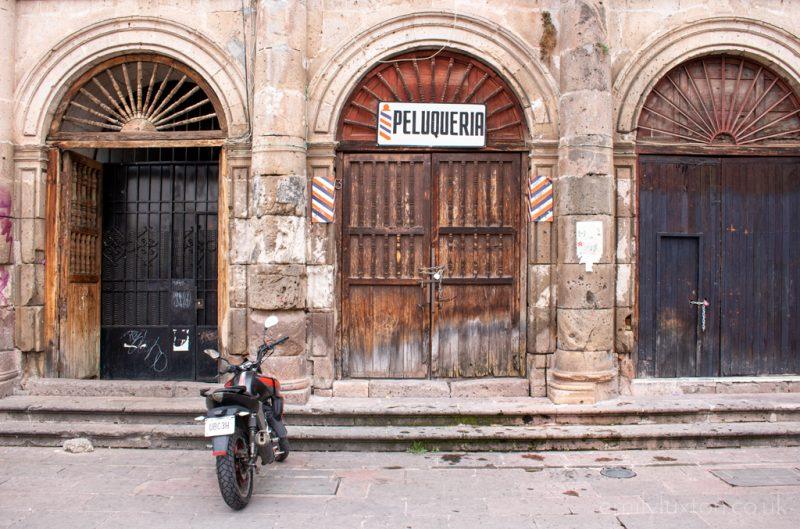 Peluqueria in Morelia Mexico