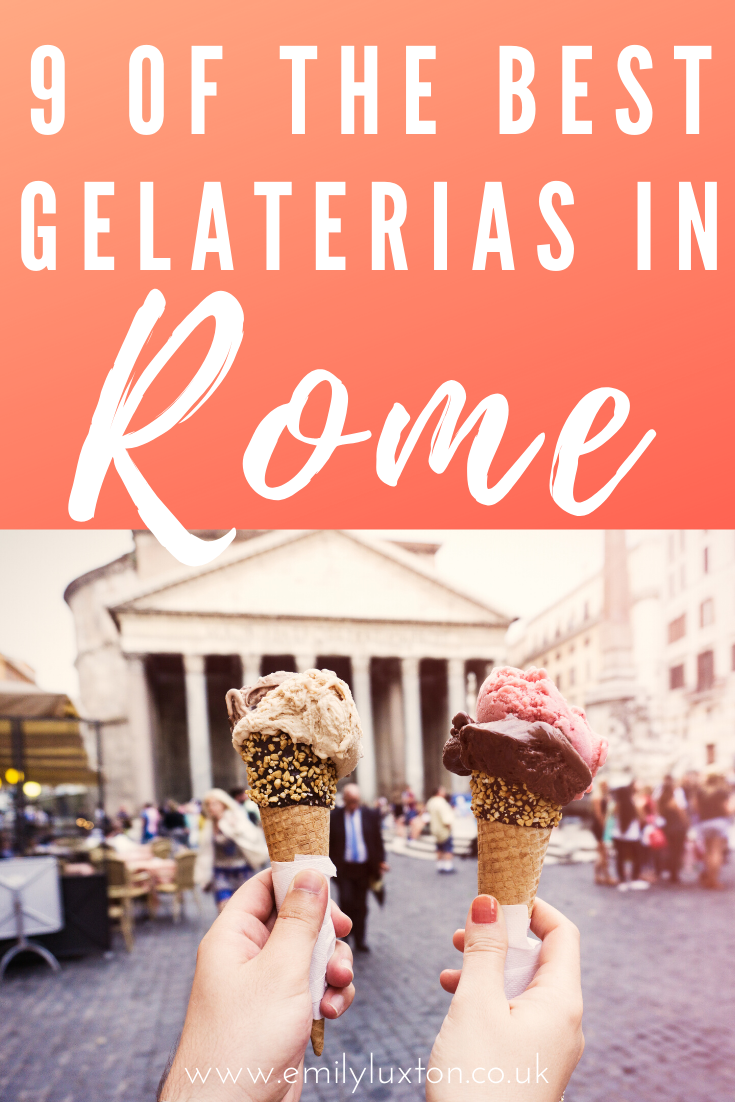 9 of the Best Gelaterias in Rome