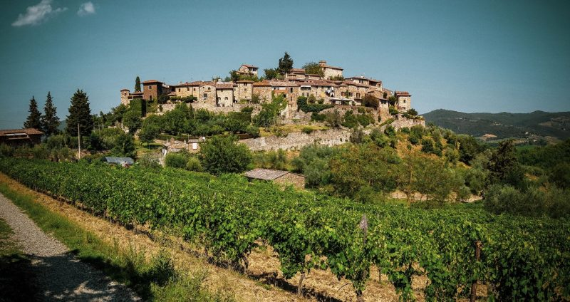 Montefioralle Tuscany