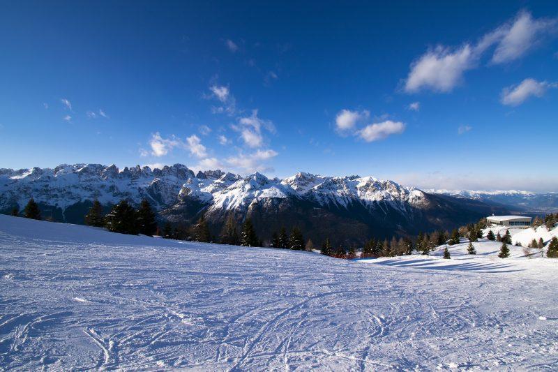 Andalo Mountain Town Trentino Italy