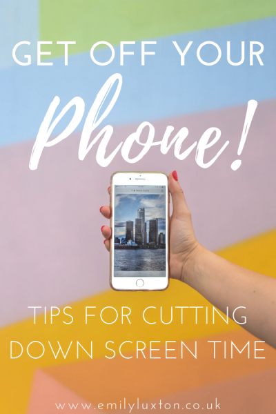 Ways to Cut Down Your Phone Time