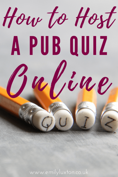 How to Plan an Online Pub Quiz