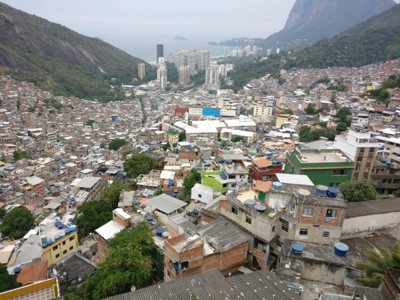Staying in Rocinha Favela Rio Brazil