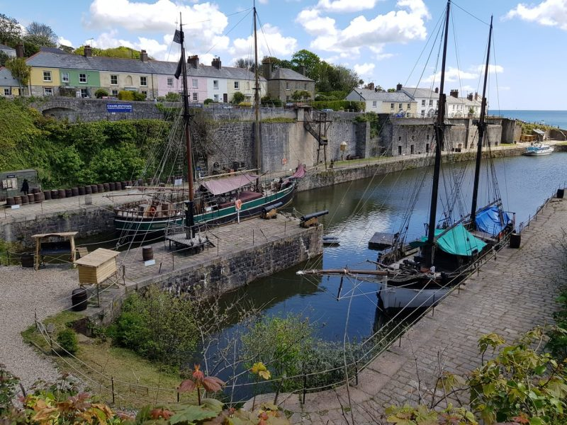 Charlestown, Cornwall - Best Places to Visit on the South Coast of England