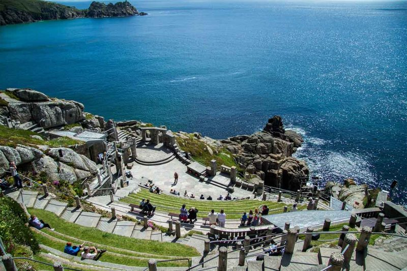 Minnack Theatre Cornwall - Best Places to Visit on the South Coast of England