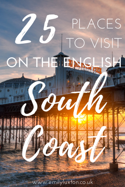 25 Places to Visit on South Coast of England