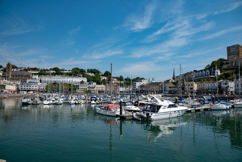 Torquay in Devon on the South Coast of England