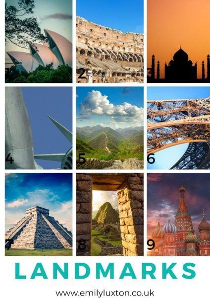 Landmarks Picture Round