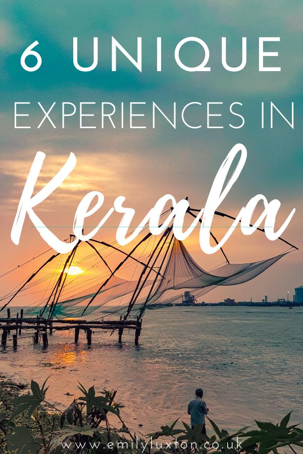 6 Unique Experiences in Kerala
