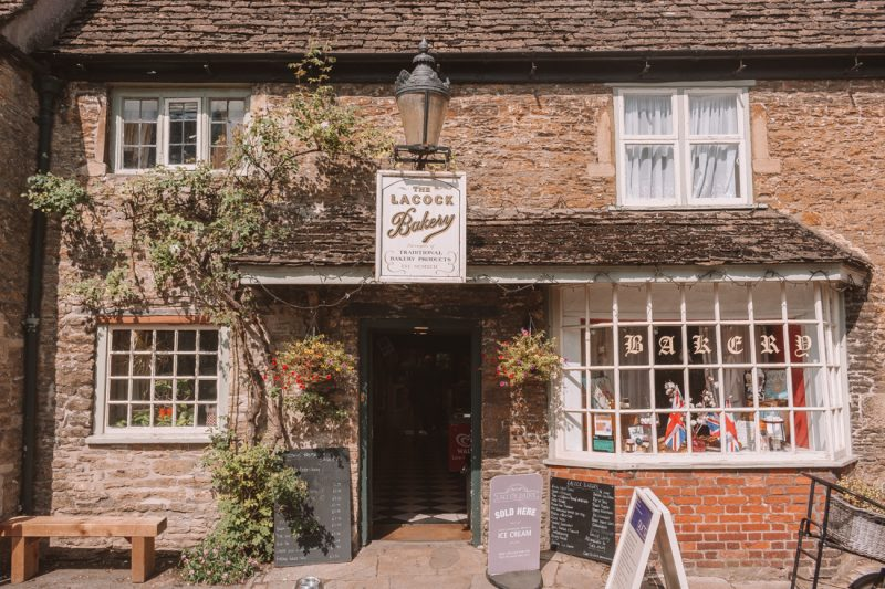 Lacock Bakery southern England