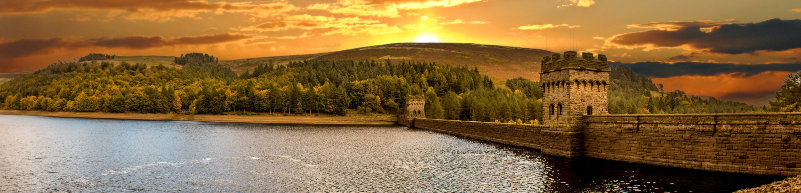Best Places to Visit in the Midlands: erwent Dam - Peak District