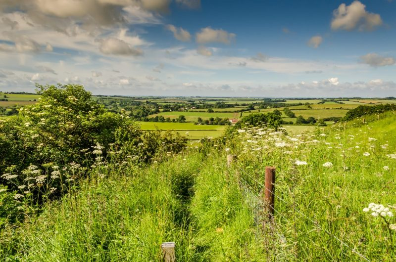 Lincolnshire Wolds England