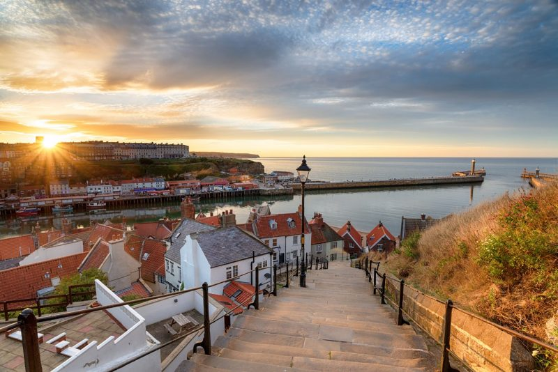 Whitby North East England