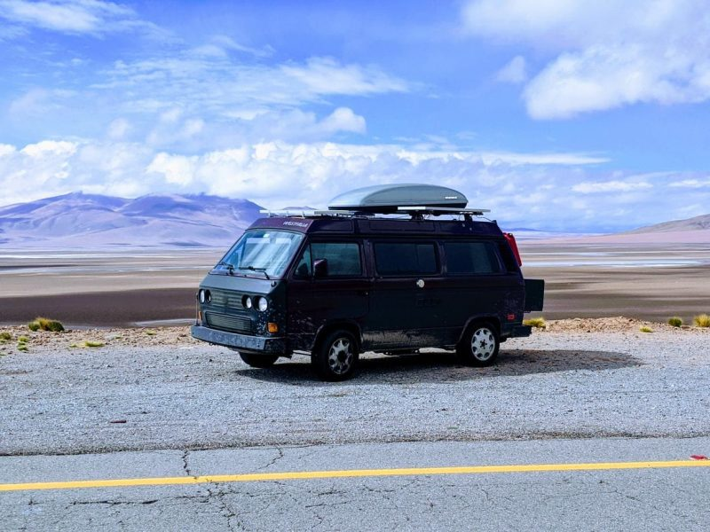Solo Van Trip Overland South America