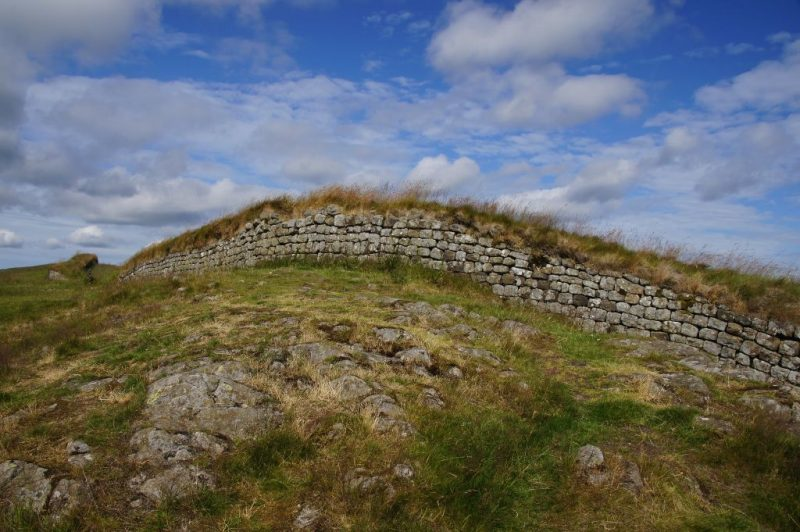 Hadrian's Wall - places to visit in northern england