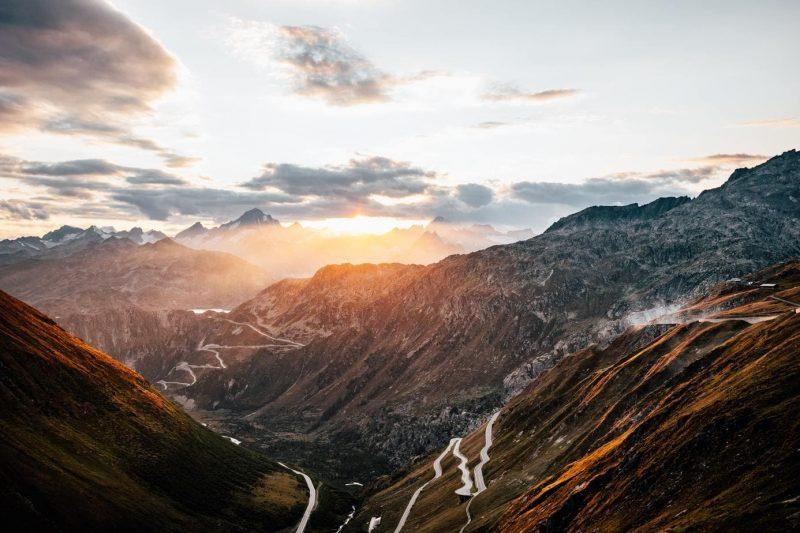 European road trips for your bucket list - Furka Pass in Switzerland