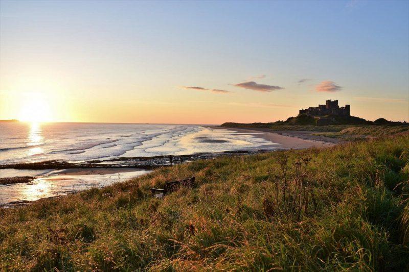 Bamburgh Castle Northumberland Coast AONB