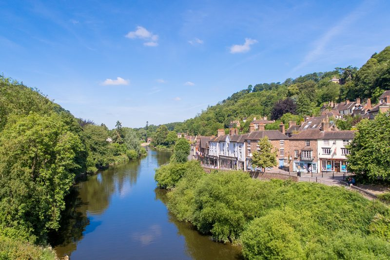 ironbridge Gorge Midlands