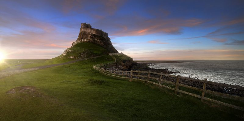 Lindisfarne Island - Best Places to Visit in the North of England
