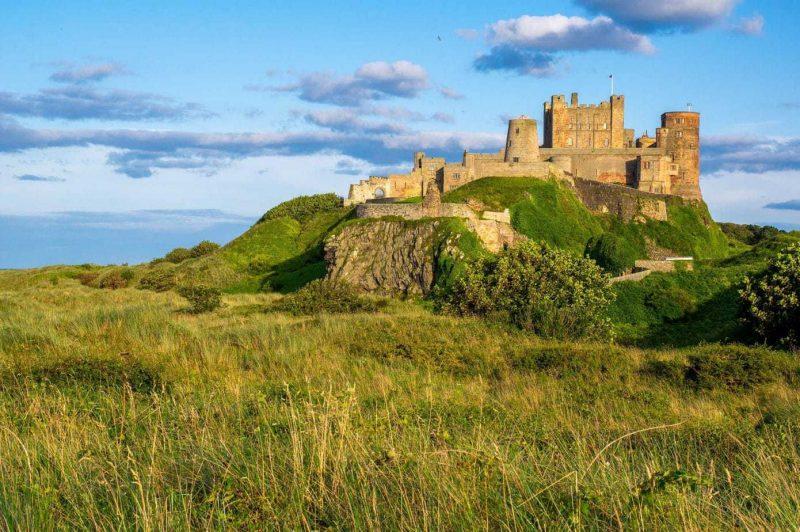 Bamburgh Castle North England