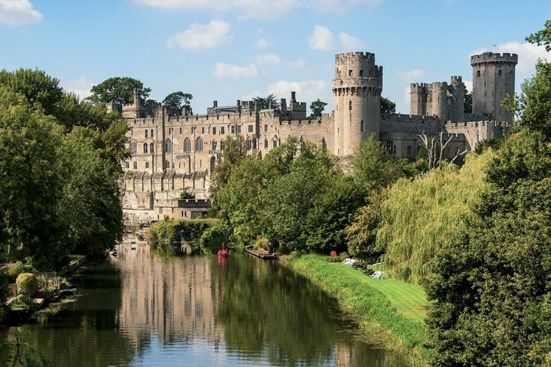 Warwick Castle England UK