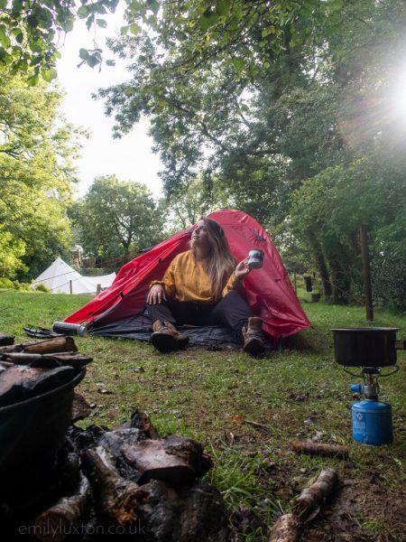 Solo Camping Dartmoor