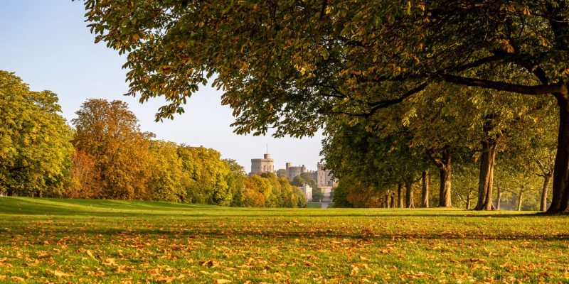 Windsor Castle England Autumn