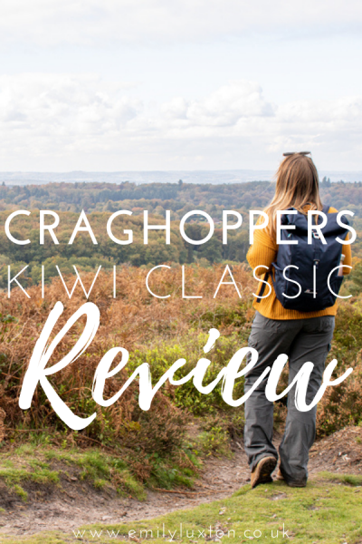 Craghoppers Kiwi Classic Backpack Review