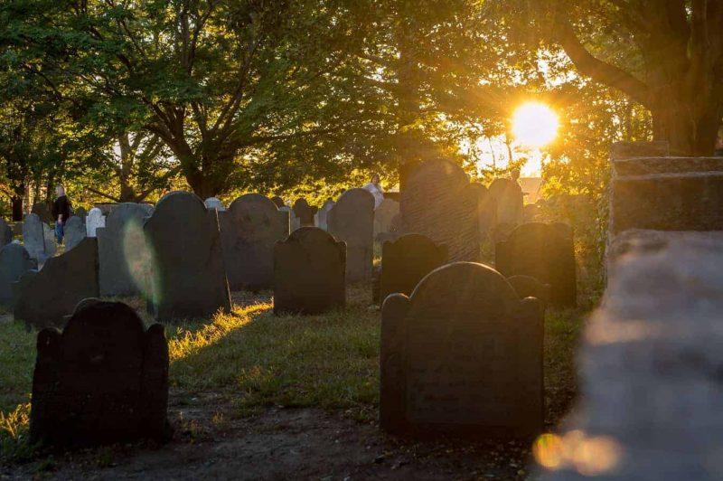 Graveyard in Salem MA