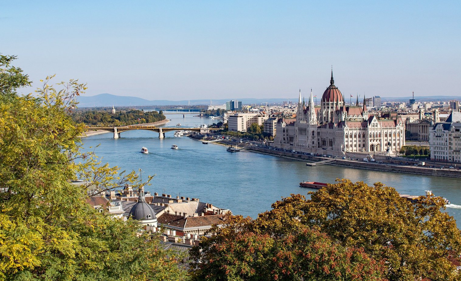 Danube River Budapest - best river cruises in europe