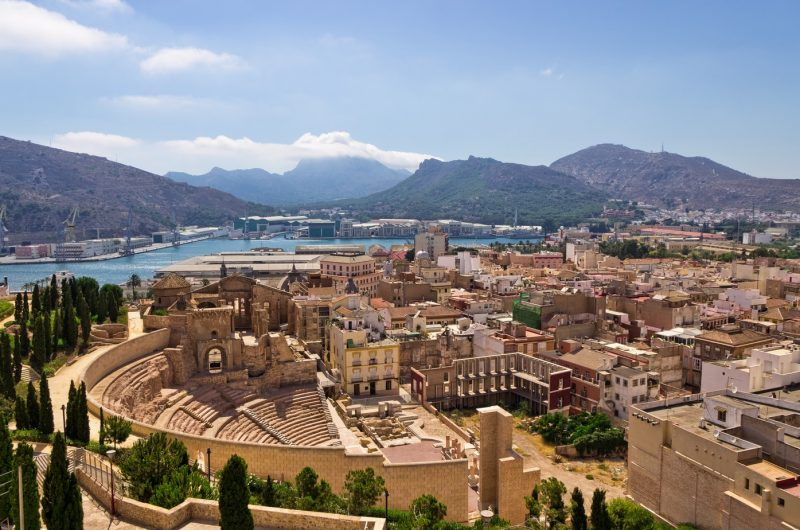 Cartagena is one of the best day trips from Murcia