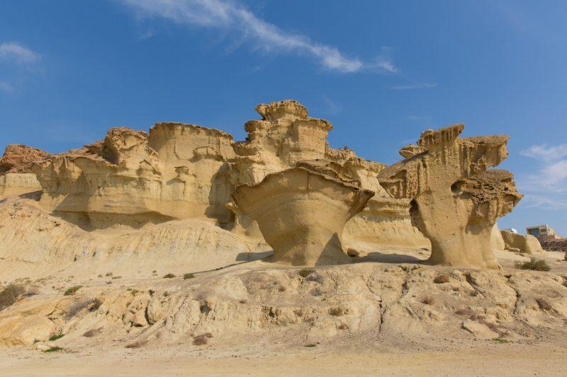 Las Gredas de Bolnuevo - one of the best day trips from Murcia
