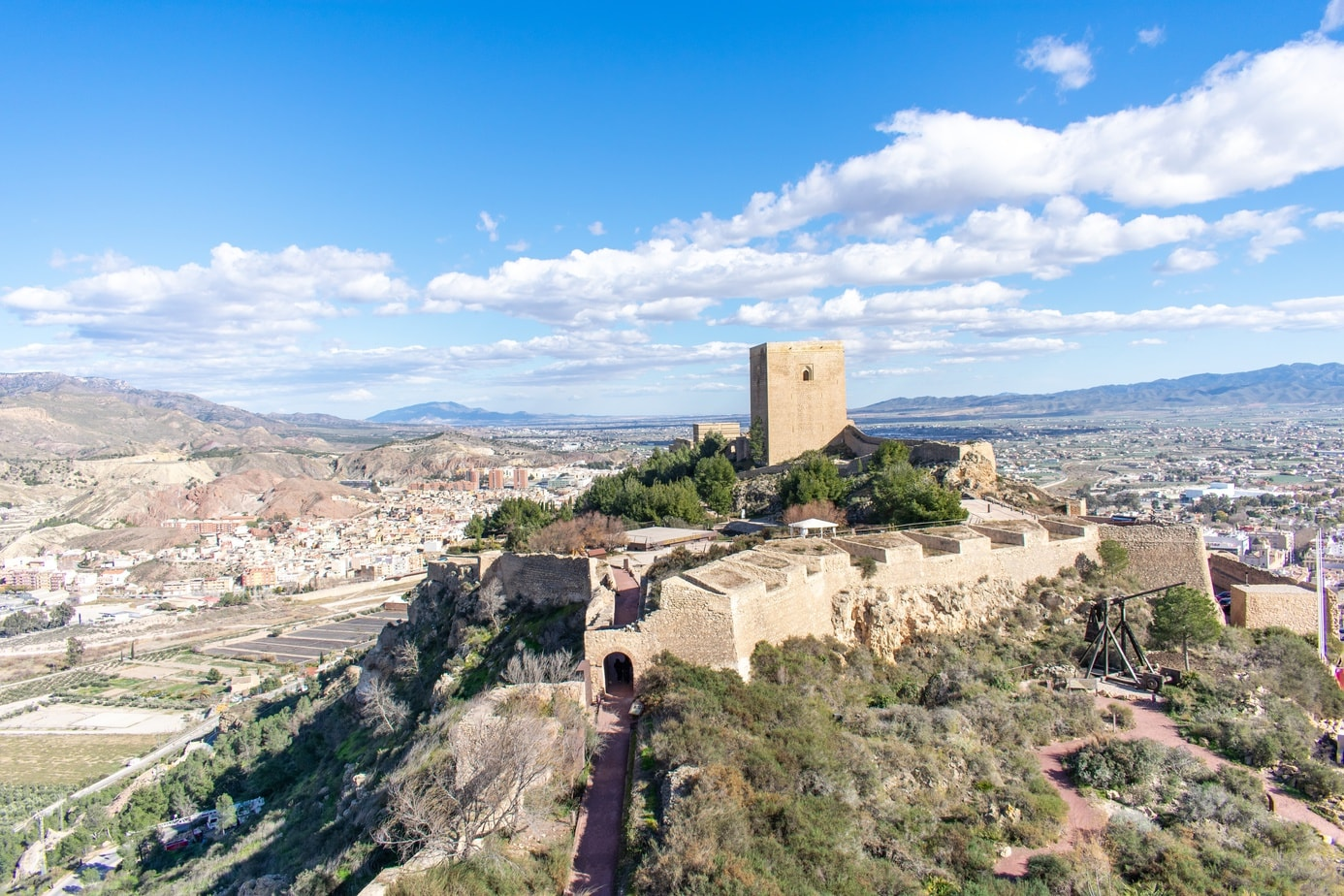 Lorca is one of the best day trips from Murcia