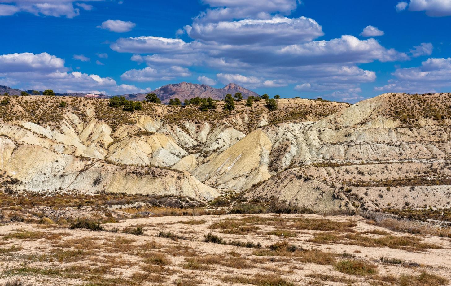 Murcia Badlands Abanilla