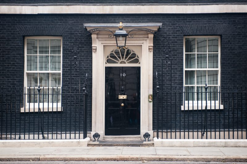 10 Downing Street Westminster London