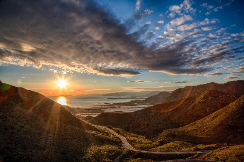 Mazarron Sunset Murcia Spain