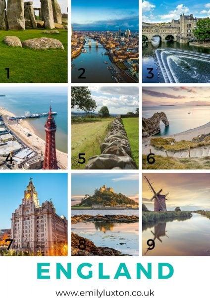 England in Photos Quiz