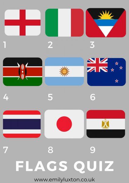 Flag Emojis Quiz