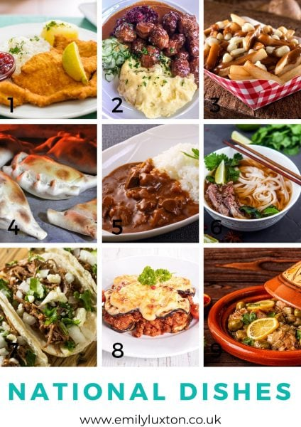 national dishes picture quiz