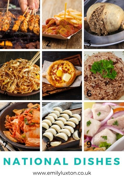 world food picture round