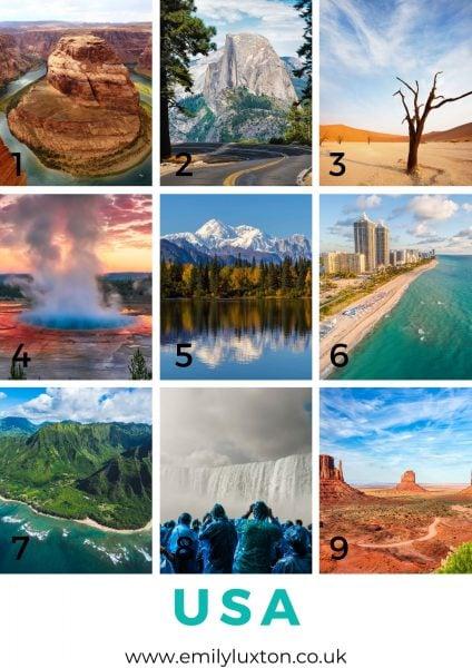 USA Picture Quiz